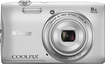 Nikon - Coolpix S3600 20.0-megapixel Digital Camera - Silver