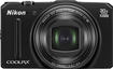 Nikon - Coolpix S9700 16.0-Megapixel Digital Camera - Black