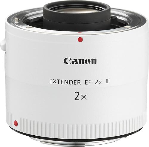 Canon - Extender EF 2x III Extender Lens - White