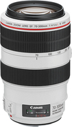 Canon - EF 70–300mm f/4–5.6L IS USM Telephoto Zoom Lens - White