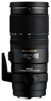 Sigma - APO 70-200mm f/2.8 EX DG OS HSM Digital Telephoto Lens for Select Canon Cameras - Black