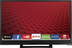 "VIZIO - E-Series 24"" Class (24"" Diag.) - LED - 1080p - Smart - HDTV - Black"