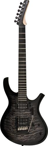 Parker - MaxxFly PDF 6-String Full-Size Electric Guitar - Quilt Black Burst