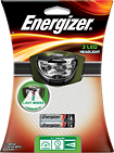 Energizer - 3-LED Head Light - Black/Gray/Green