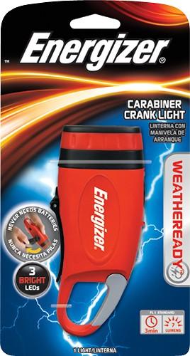 Energizer Weather Ready WRCKCCBP Carabiner Crank Light - LED