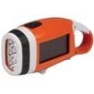 Energizer - Solar Carabiner Crank Light - Orange/White