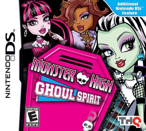 Monster High Ghoul Spirit - Nintendo DS
