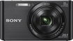 Sony - DSC-W830 20.1-Megapixel Digital Camera - Black