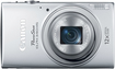 Canon - PowerShot ELPH-340 16.0-Megapixel Digital Camera - Silver