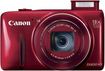 Canon - PowerShot SX-600 16.0-Megapixel Digital Camera - Red