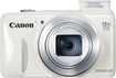 Canon - PowerShot SX-600 16.0-Megapixel Digital Camera - White