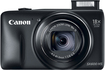 Canon - PowerShot SX-600 16.0-Megapixel Digital Camera - Black