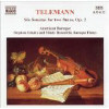 Six Sonatas For Two Flutes Op 2 - CD
