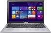 "Asus - 15.6"" Touch-Screen Laptop - Intel Pentium - 4GB Memory - 500GB Hard Drive - Gray"