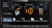 "Kenwood - 6.95"" - CD/DVD - Built-in Bluetooth - Built-in HD Radio - In-Dash Deck - Black"
