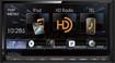 """Kenwood - 6.95"""" - CD/DVD - Built-in Bluetooth - Built-in HD Radio - In-Dash Deck - Black"""
