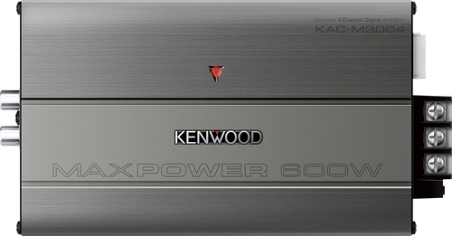 Kenwood - 300W Class D Bridgeable Multichannel MOSFET Amplifier - Gray