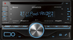 Kenwood - CD - Built-In Bluetooth - Apple® iPod®- and Satellite Radio-Ready - In-Dash Deck - Black