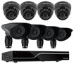 Defender - PRO SENTINEL 8-Channel, 8-Camera Indoor/Outdoor Security System - Black
