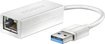 Insignia - USB 3.0-to-Gigabit Ethernet Adapter - White