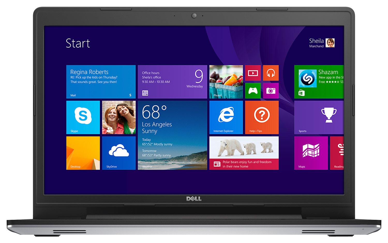 "Dell - Inspiron 17.3"" Laptop - Intel Pentium - 4GB Memory - 500GB Hard Drive - Longitude Silver"