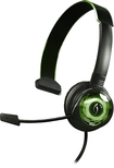PDP - Afterglow Wired Communicator for Xbox 360 - Black/Green
