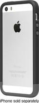 Incase - Frame Case for Apple® iPhone® 5 and 5s - Black/Gray