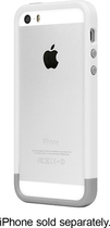 Incase - Frame Case for Apple® iPhone® 5 and 5s - White/Gray