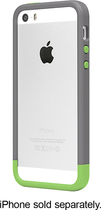 Incase - Frame Case for Apple® iPhone® 5 and 5s - Slate/Fluro Green