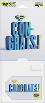 Best Buy GC - $50 Congratulations Gift Card - Multi