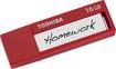 Toshiba - TransMemory ID 16GB USB 3.0 Flash Drive - Red