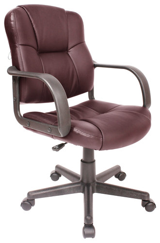 Comfort Products Inc. - Leather Massage Task Chair - Brown