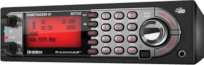 Uniden - BearTracker 9,000-Channel Mobile Analog Scanner - Black