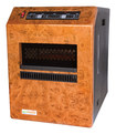 ECO Heater - 0.3-Gal. Humidifier and Ceramic Space Heater - Brown