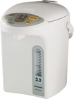 Panasonic - 3.2-Quart Electric Thermal Pot - White/Silver