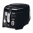DeLonghi - Roto Deep Fryer - Black/Silver