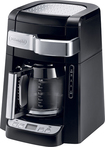 DeLonghi - 12-Cup Coffeemaker - Black