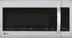 LG - 2.0 Cu. Ft. Over-the-Range Microwave - Stainless-Steel