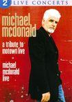 A Tribute To Motown Live + Michael Mcdonald Live [dvd] 3554307