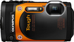 Olympus - TG-860 16.0-Megapixel Digital Camera - Orange