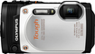 Olympus - TG-860 16.0-Megapixel Digital Camera - White