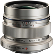 Olympus - M.Zuiko Digital ED 12mm f/2.0 Wide-Angle Lens for Most Micro Four Thirds Cameras - Silver