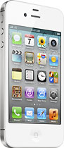 Apple® - iPhone® 4S with 16GB Memory Mobile Phone - White (Sprint)