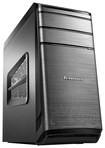 Lenovo - Desktop - Intel Core i7 - 12GB Memory - 1TB Hard Drive + 128GB Solid State Drive - Gray
