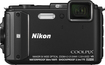Nikon - Coolpix AW130 16.0-Megapixel Digital Camera - Black