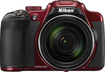 Nikon - Coolpix P610 16.0-Megapixel Digital Camera - Red