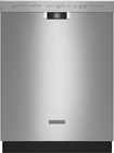 "KitchenAid - 24"" Built-In Dishwasher - Stainless-Steel"