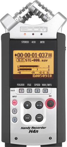 Zoom - H4n Handy Recorder - Silver