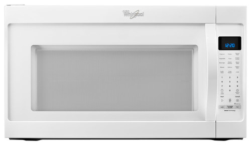 Whirlpool - 2.0 Cu. Ft. Over-the-Range Microwave - White