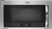 Whirlpool - 1.9 Cu. Ft. Over-the-Range Microwave - Stainless-Steel